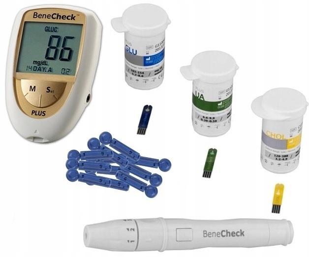 Glukometr BeneCheck Plus