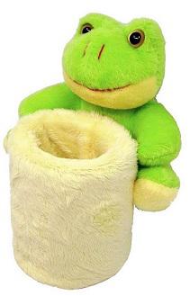 Pluszowe etui żaba
