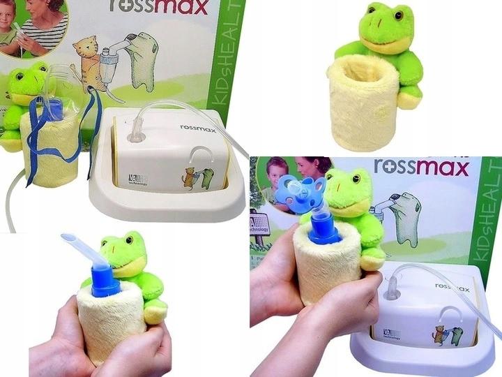 Cichy inhalator dla dzieci