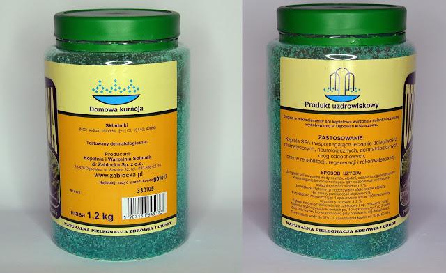 Zabłocka sól uzdrowiskowa